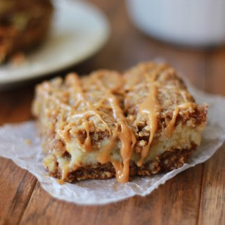 Caramel Apple Cream Bars