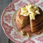 blender oat groat pancakes
