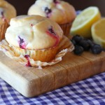 Glazed Blueberry Donut Muffin