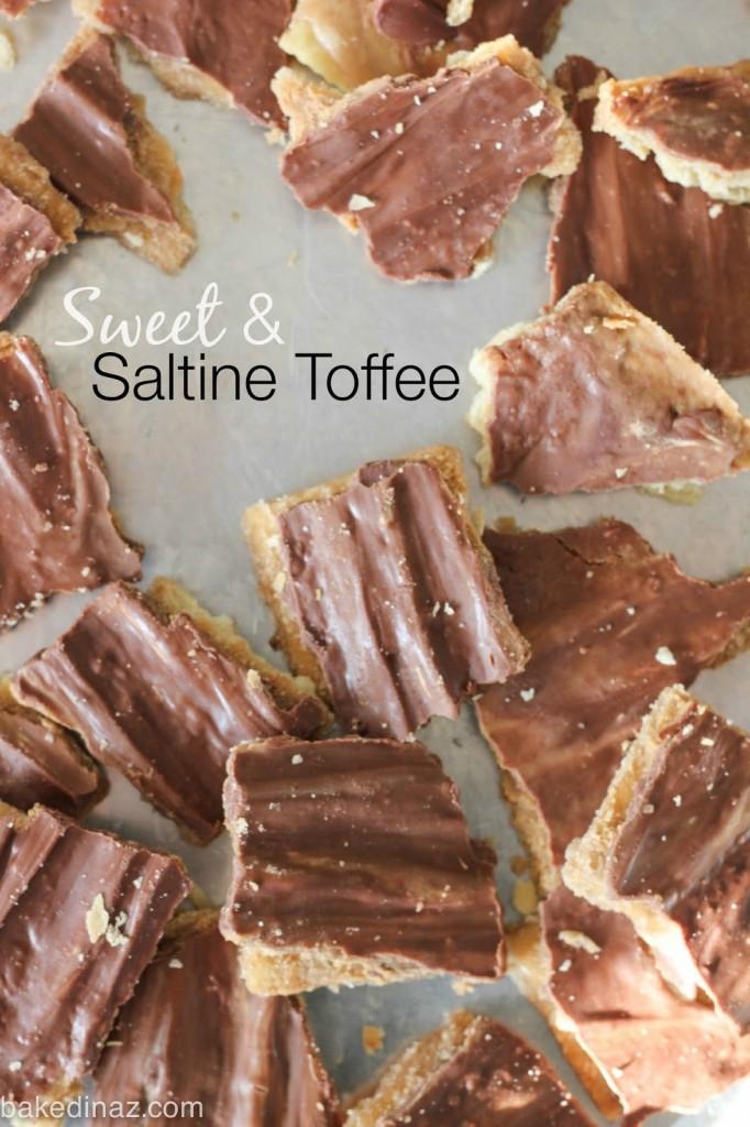 sweet saltine toffee aka christmas crack
