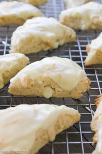 orange creamsicle scone
