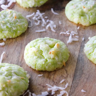 Key Lime Coconut Cookies