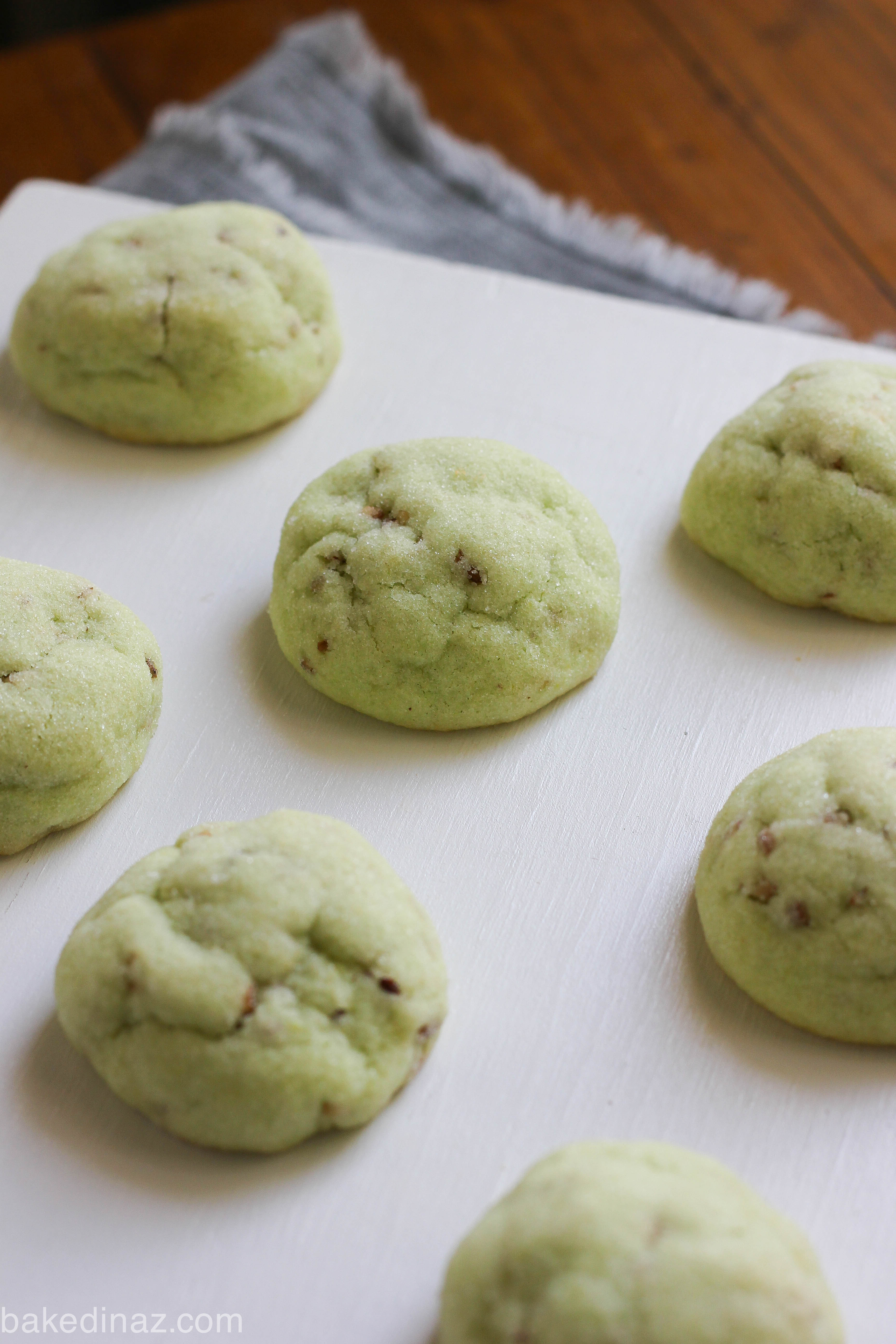 Pistachios cookies recipes
