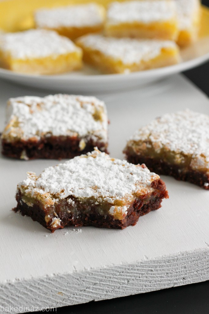 Chocolate Lemon Bars