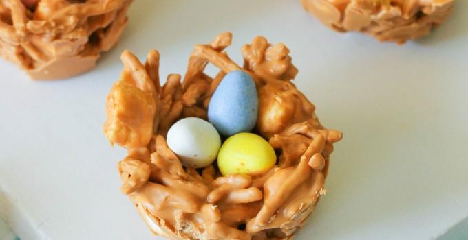 Butterscotch Bird Nests
