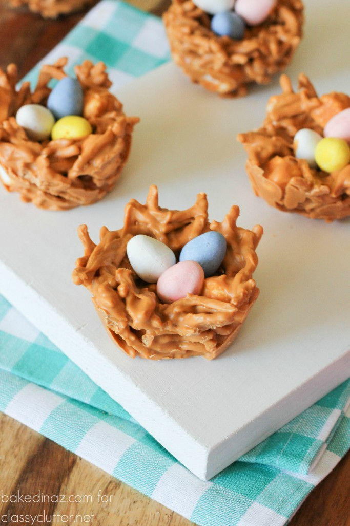 butterscotch bird nests