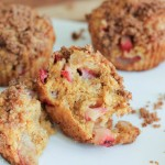 Strawberry Banana Muffins {Vegan}
