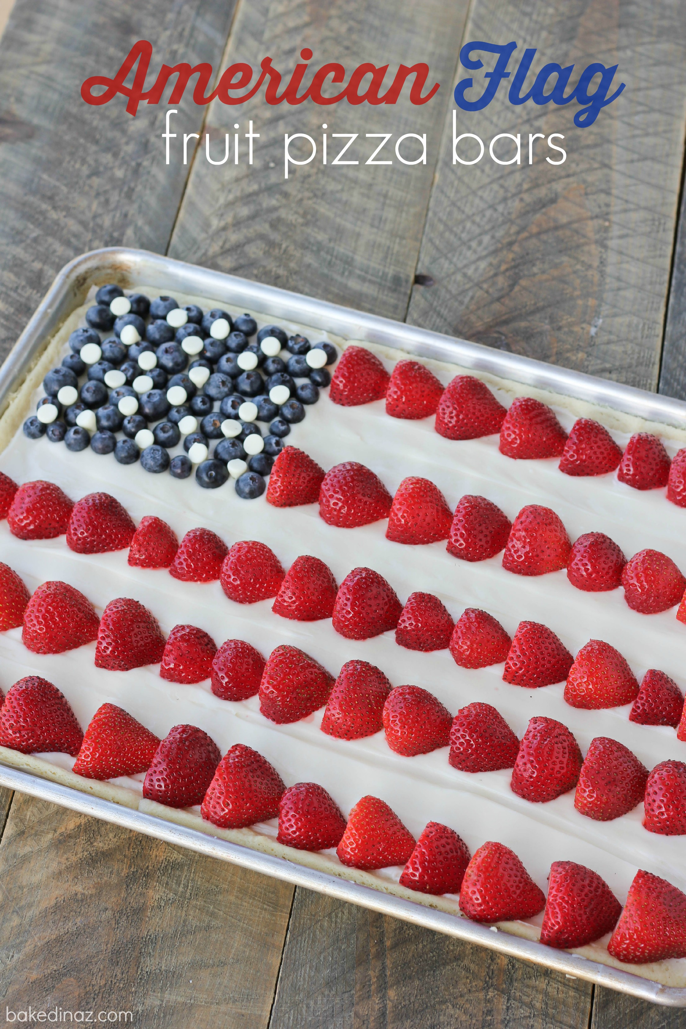 Flag fruit pizza Bin A