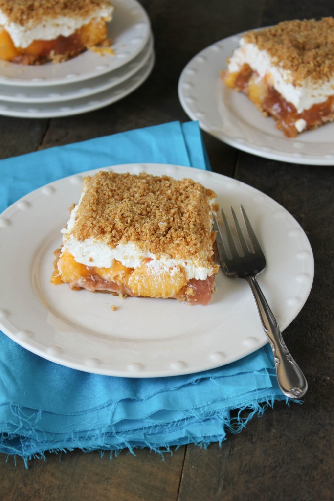 This dessert is a must make during every peach season!