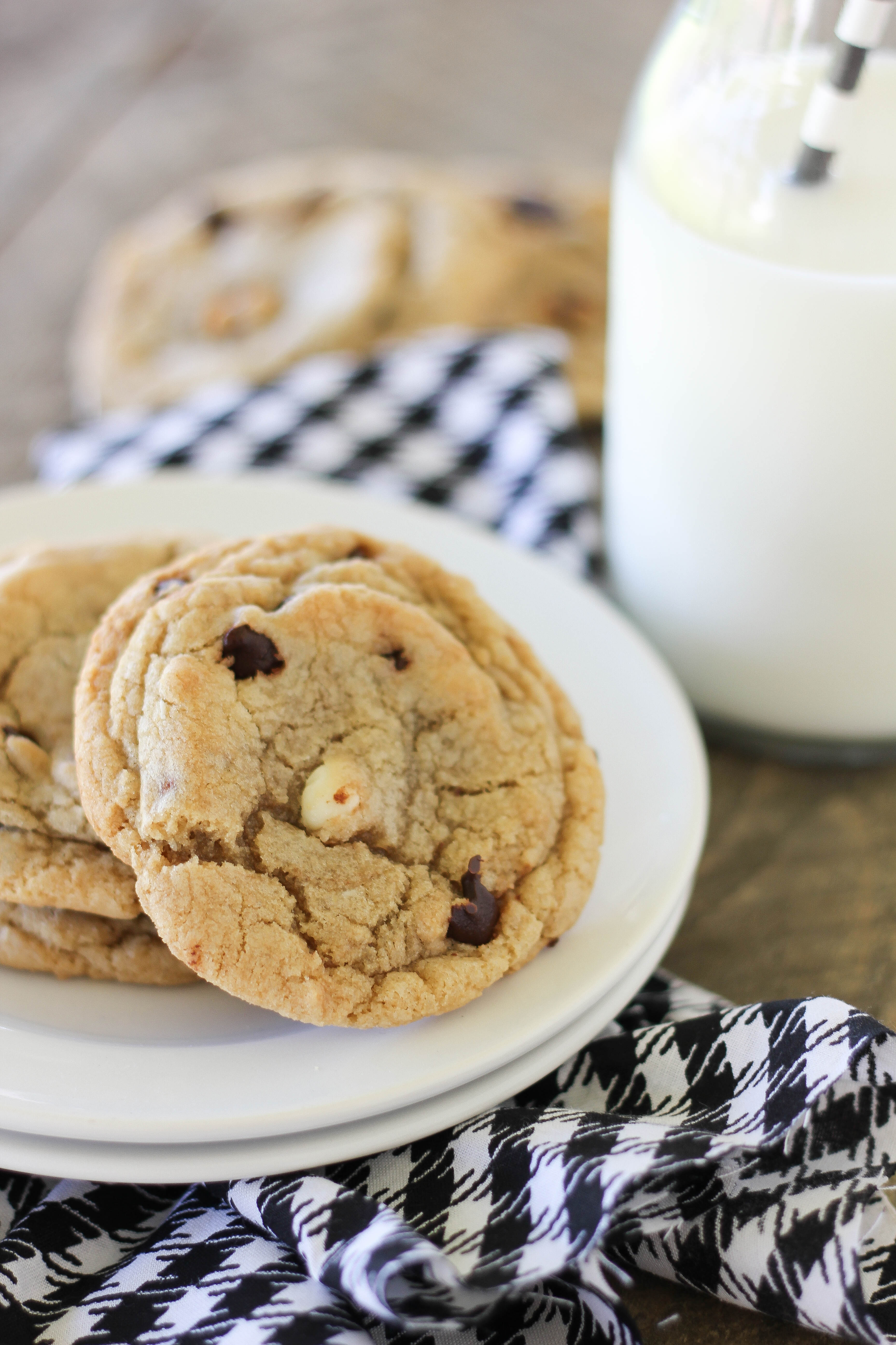 The Best Big and Chewy Chocolate Chip Cookies | Baked in AZ