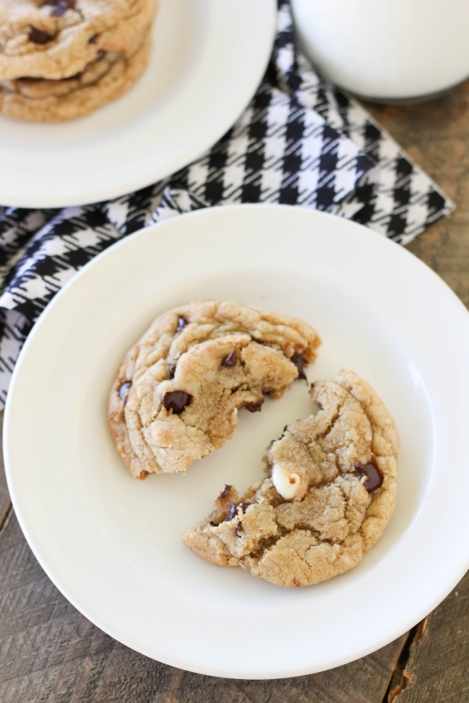 The Best Big Fat,, Chewy Chocolate Chip Cookies