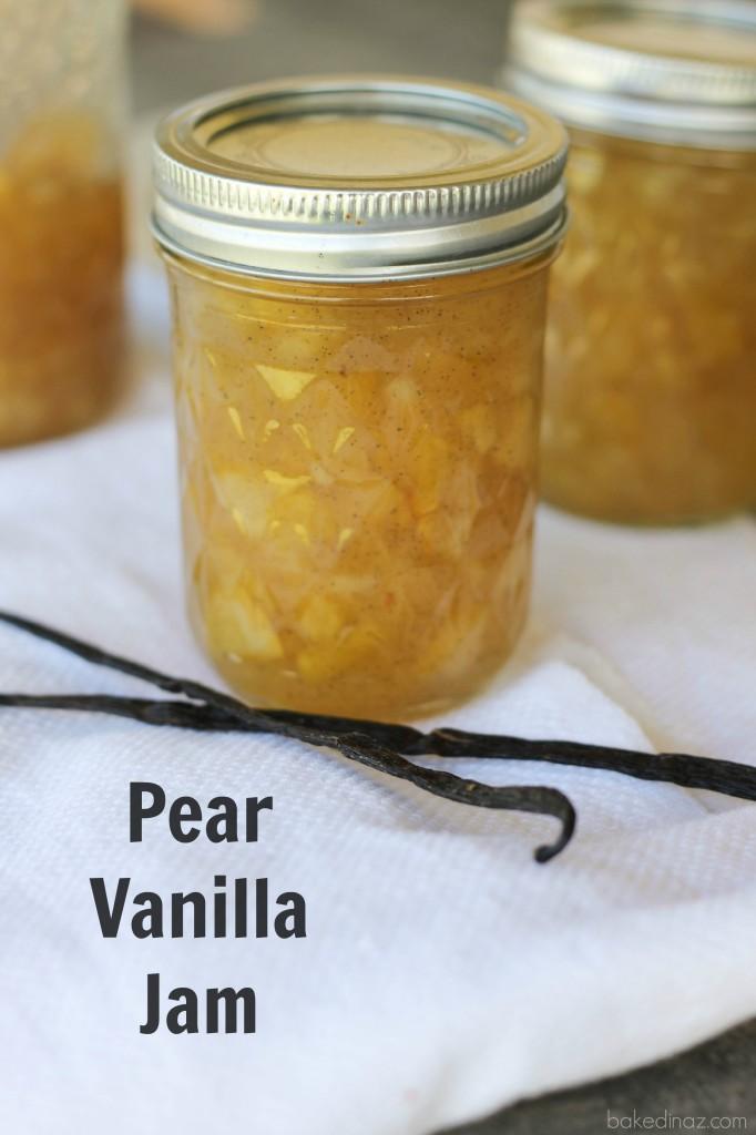 Pear Vanilla Jam