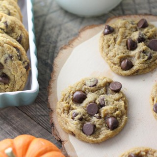 Chewy Pumpkin Chcolate Chip Cookies-6
