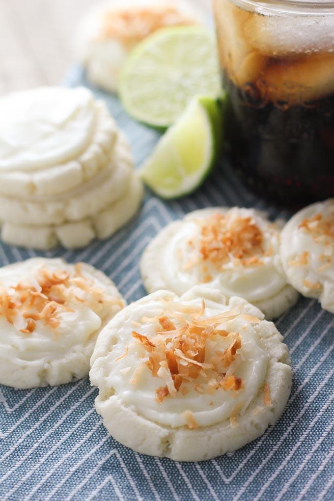 Coconut Lime Swig Sugar Cookies-4