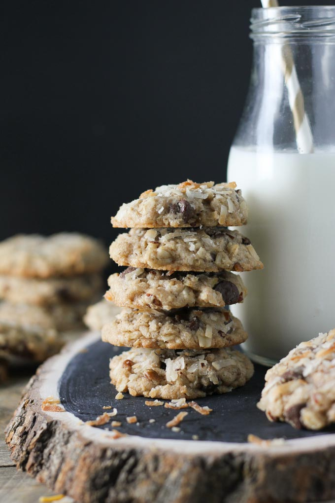 Coconut Pecan Chocolate Chip Cookies-2