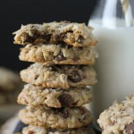 Coconut Pecan Chocolate Chip Cookies-3