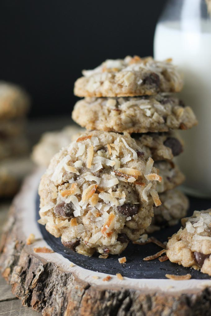 Coconut Pecan Chocolate Chip Cookies
