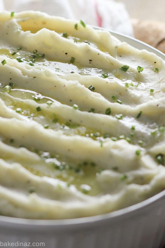 The best make ahead mashed potatoes!