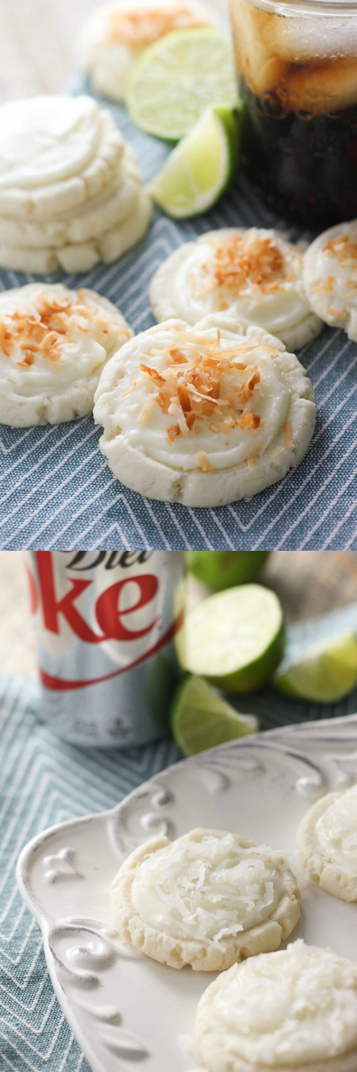 Coconut & Lime Swig Style Sugar Cookie