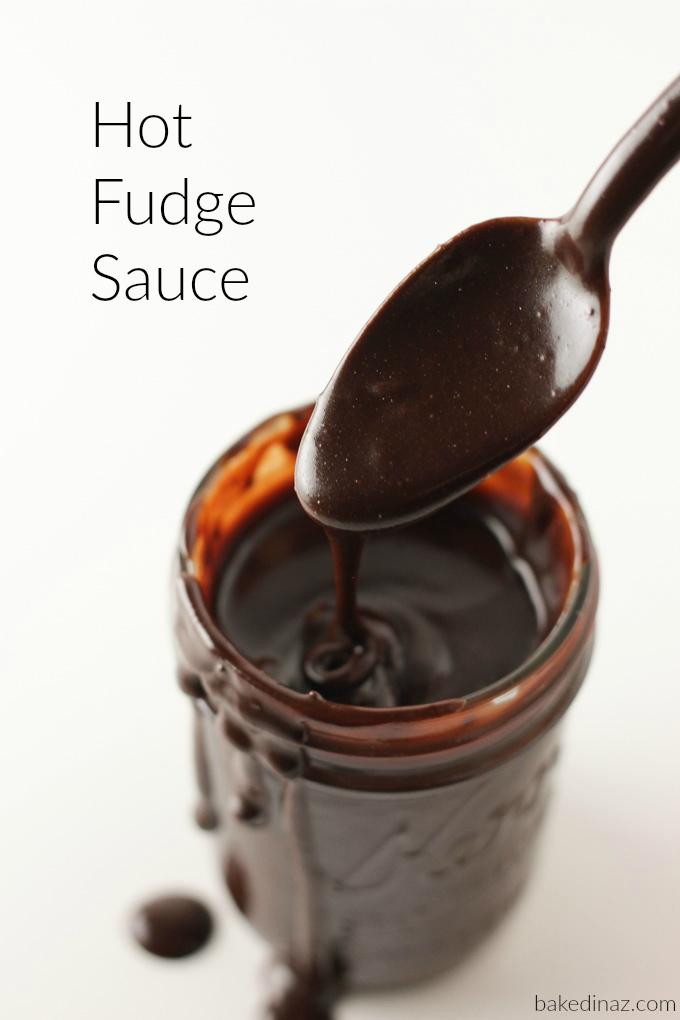 Hot Fudge Sauce text