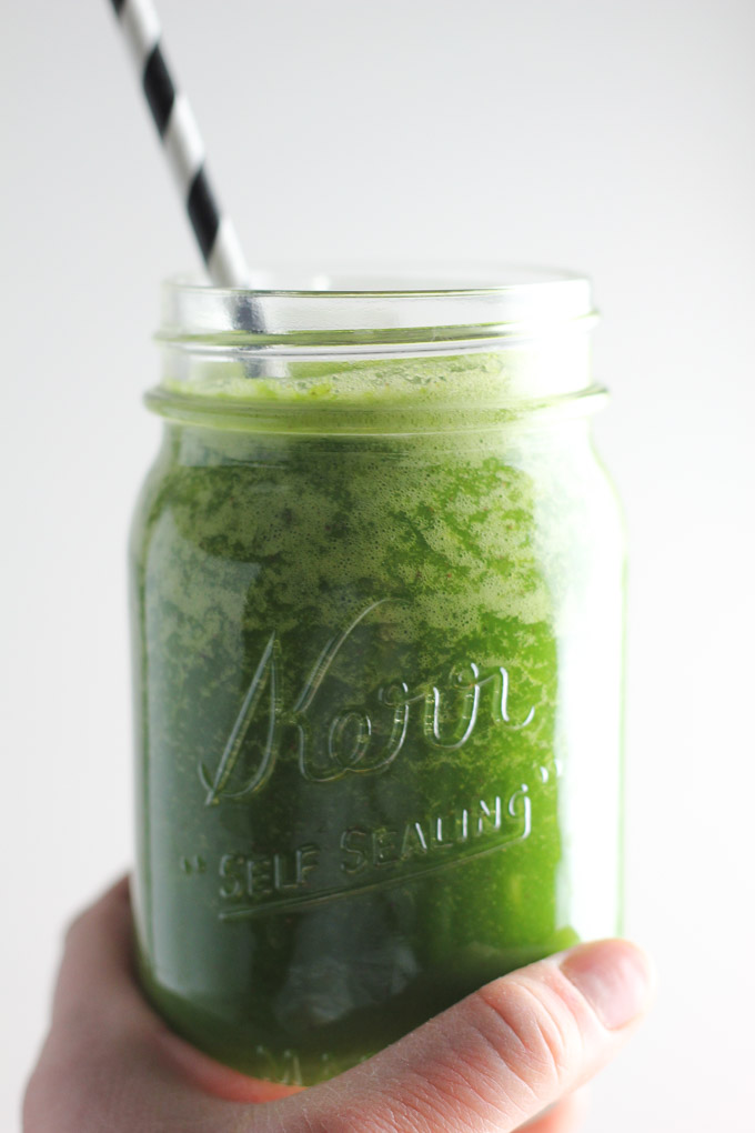 Back on Track Green Smoothie-9