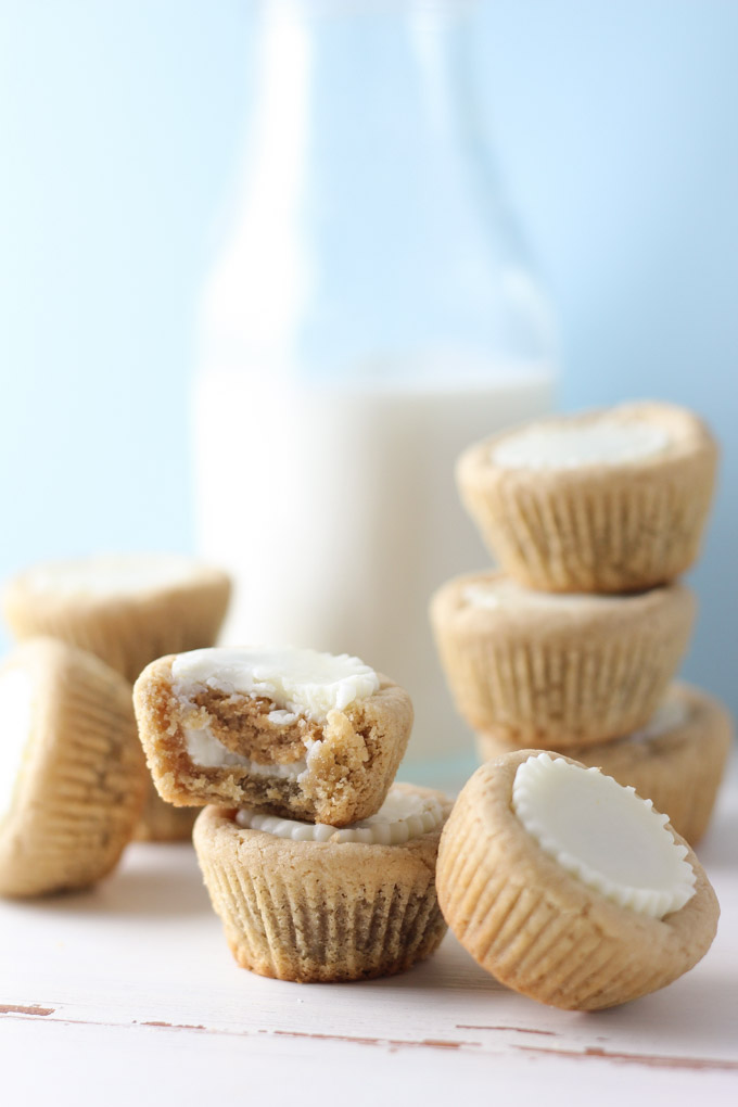 Peanut Butter Cup Cookies-12