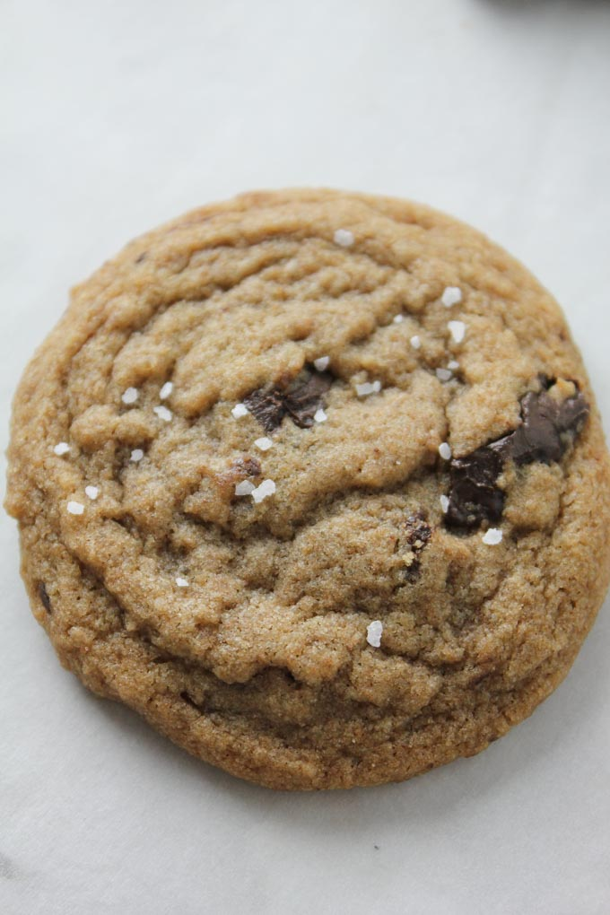 Whole Wheat Chewy Chocolate Chip Cookies-3