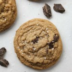 Whole Wheat Chewy Chocolate Chip Cookies-5