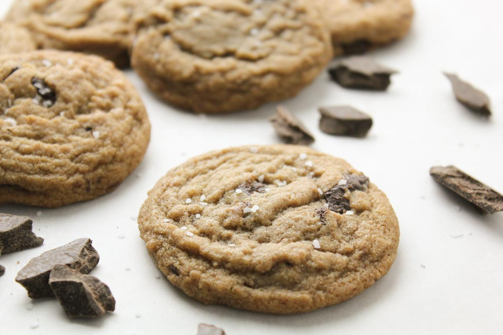 Whole Wheat Chewy Chocolate Chip Cookies-7