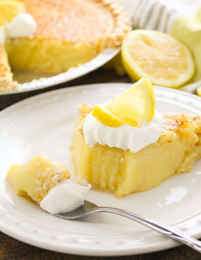 Blender Lemon Pie-5