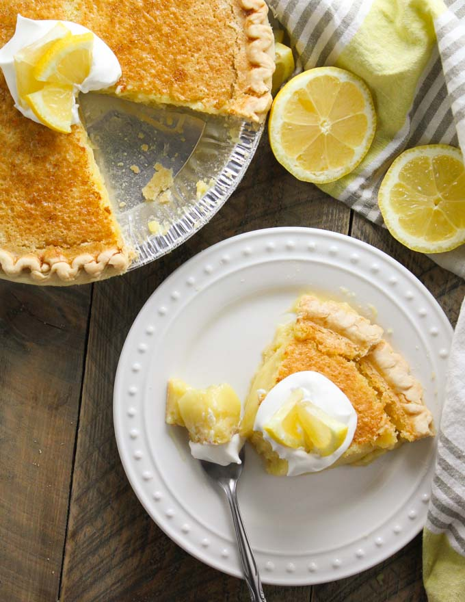 Blender Lemon Pie-7