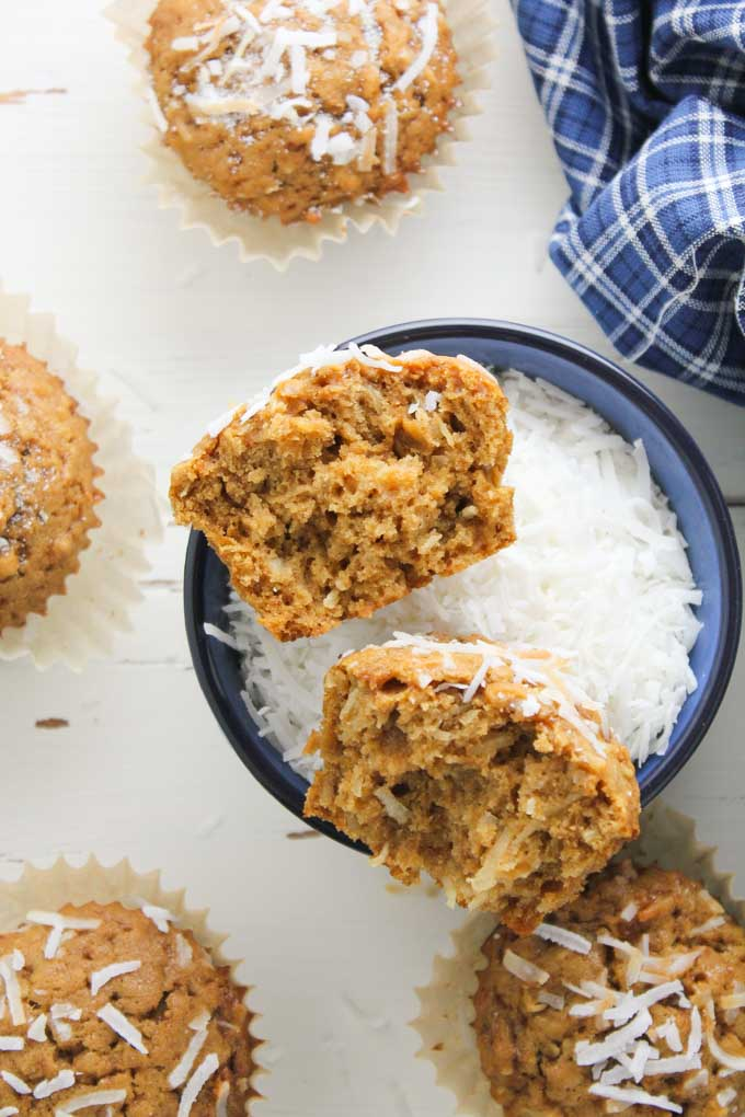 Coconut Muffins-5