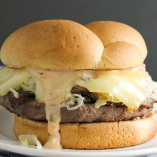 Pastrami Cheeseburgers (30-Minute Supper)