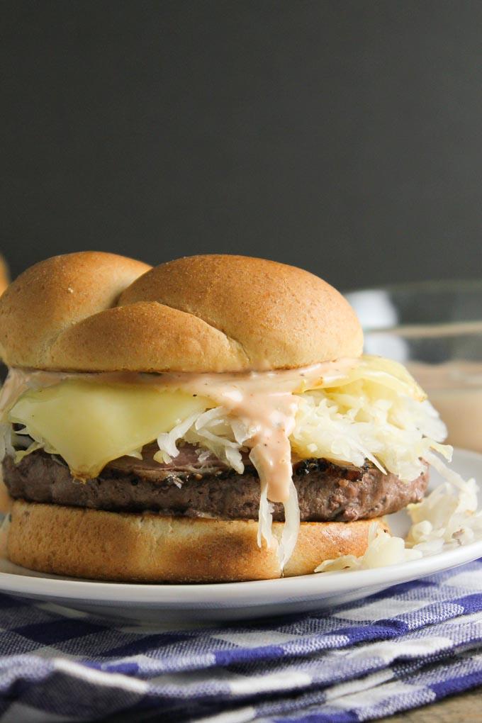Pastrami Cheeseburger