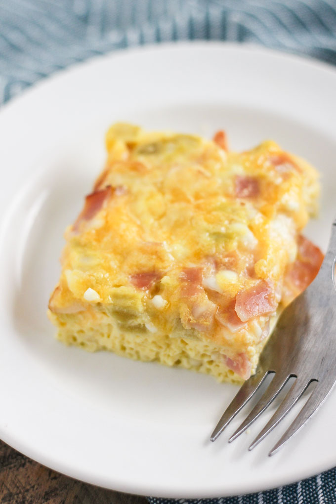 Breakfast Egg Casserole Bake-3