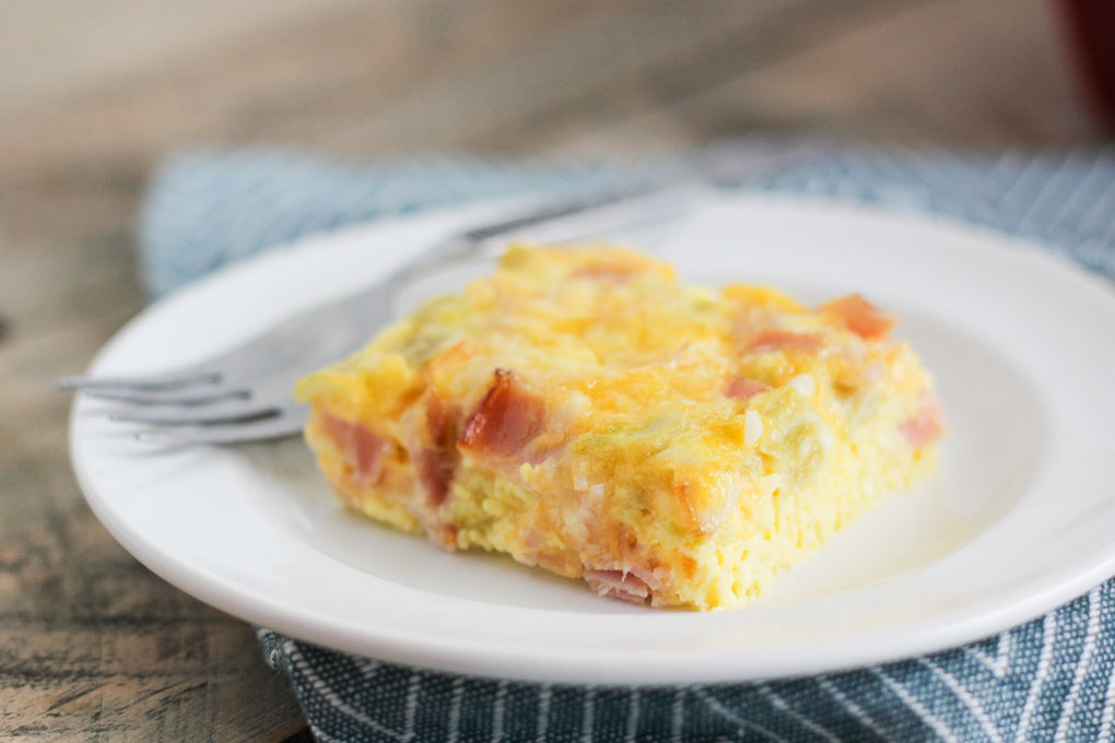 Breakfast Egg Casserole Bake-4