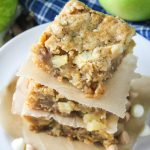 Apple Butterscotch White Chocolate Blondies-2