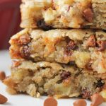 Apple Cinnamon Oat Blondies-6