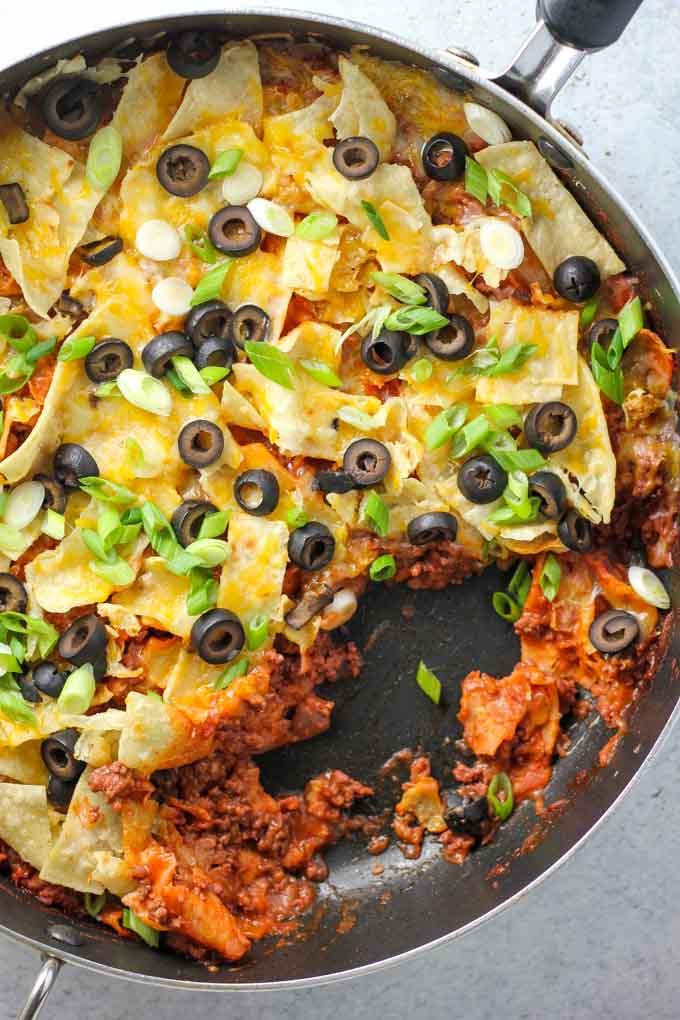skillet-enchiladas