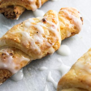 Glazed Cheese Croissant
