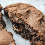 picture of a brownie cookie with recipe