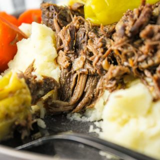 Mississippi Pot Roast (Slow Cooker)