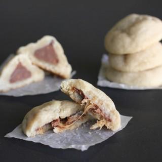Shortbread Surprise Cookies