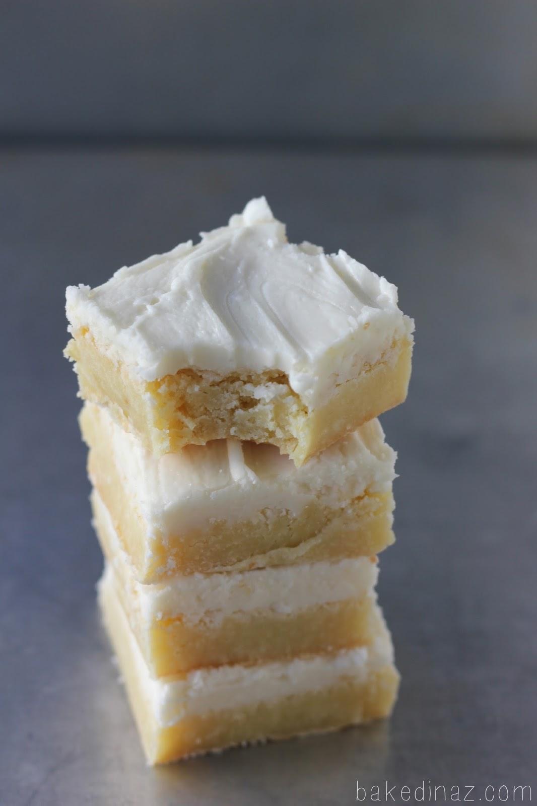 Triple Vanilla Brownies Baked In Az
