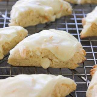 Orange Creamsicle Scones
