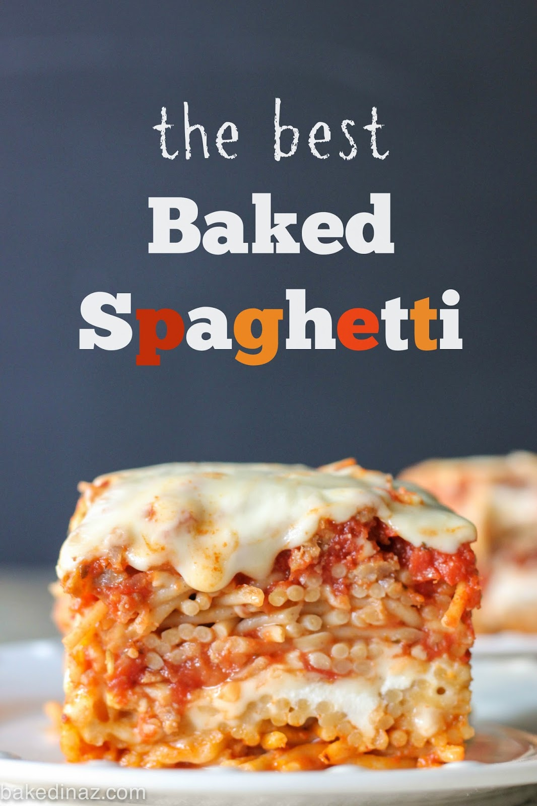 Baked Spaghetti Baked In Az