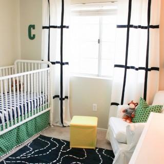 Baby Boy Nursery on a budget! {Connor's Room}