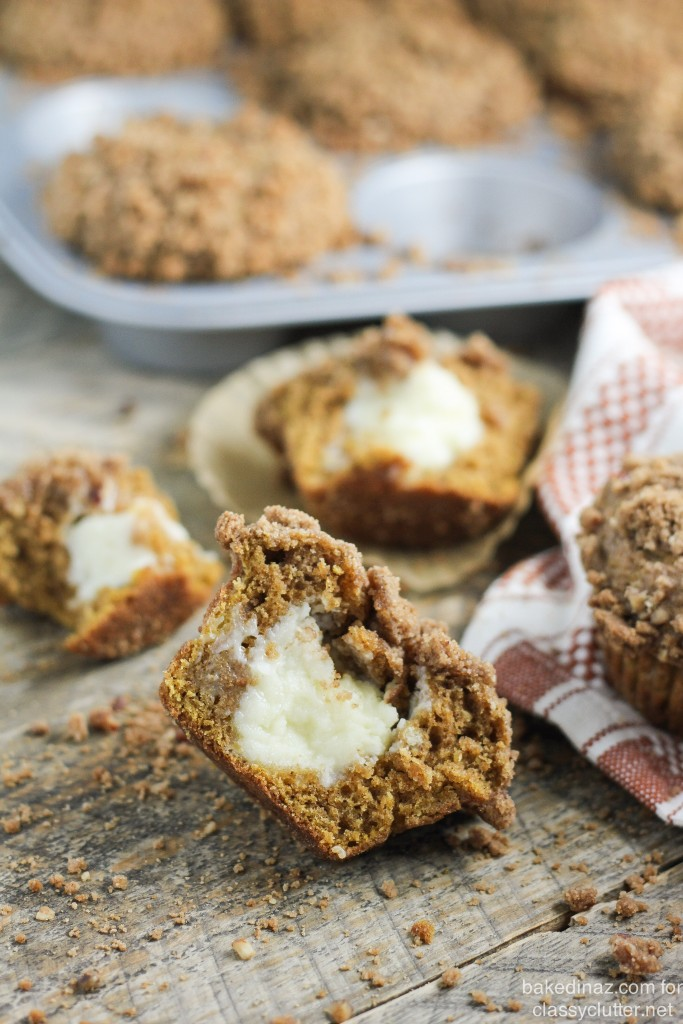 Pumpkin Cream Cheese Muffins-332