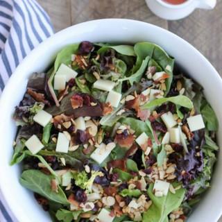 Bacon Mozzarella Salad