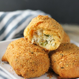 Stuffed Chicken Crescent Rolls